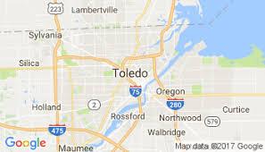 toledo ohio map current local in toledo ohio