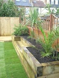 Railway Sleepers Garden Ideas Railway Sleepers Garden Photo 4 Of 4 Beautiful Cheap Wooden
