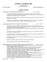 Pmo Cv Resume Sample Itil Change Management Resume Sles 100 Images Pmp Resume Sles