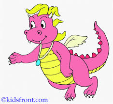 emmy dragon tales coloring pages kids color print