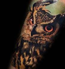 owl tattoo meaning protection 40 owl forearm tattoo designs for men feathered ink ideas