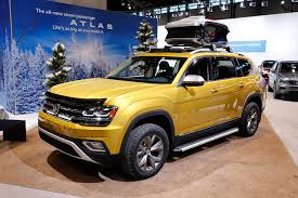 volkswagen jeep vintage volkswagen atlas weekend edition concept is road trip ready