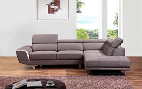 Gray Sectional Sofa Grey 0890 Grey Sectional Sofa By At Home Usa In Living Room