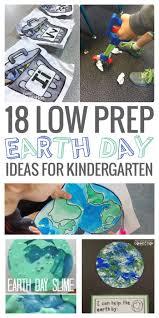 18 low prep earth day ideas kindergartenworks