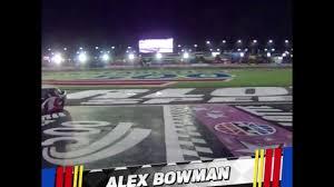 Charlotte Flag Nascar Alex Bowman Follows Ryan Blaney And Gives Flag To A Fan