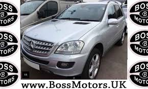 used mercedes m class uk mercedes ml350 m class 3 5 sport 7g tronic 5dr 4x4 silver
