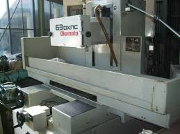 okamoto cnc surface grinder machine psg 63dxnc for sale used