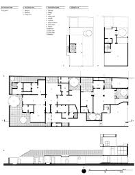 Floor Plans And Elevations Of Houses Extended Sequence Of Flowing Spaces 33rd Lane Geoffrey Bawa U0027s