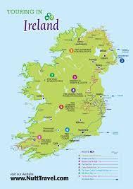 Dublin Ireland Map Nutt Travel Touring In Ireland Map