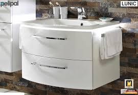 waschbecken untertisch fackelmann kara waschtischunterschrank 80 cm 80950 megabad
