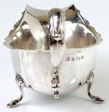 sterling silver wedding gifts sterling sauce boat gravy boat solid silver wedding anniversary