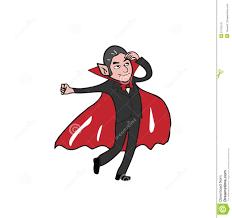 halloween vampire dancing stock vector image 57135741