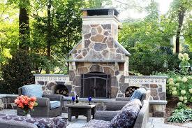 Outdoor Fireplace Designs - diy outdoor fireplace designs plans
