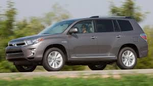 toyota suv review 2011 toyota highlander hybrid review notes a green suv with