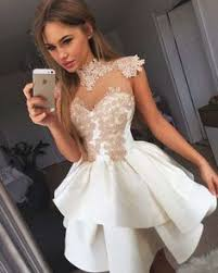 organza lace homecoming dresses short party dresses ed2016
