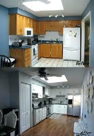 Updating Kitchen Cabinets Cheap Update Cupboard Doors Updates Before