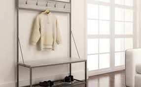 entryway rack tips on buying a coat rack bench for your entryway furniture wax