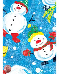 bulk christmas wrapping paper amazing deal on confetti snowmen bulk christmas gift wrap 30 x
