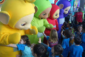 teletubbies 20th anniversary party pretty nuts