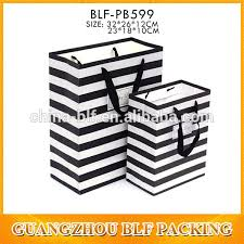 black and white striped gift bags black and white striped shopping gift bag buy shopping gift bag