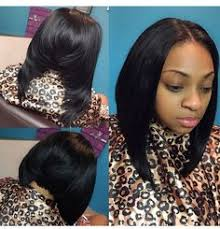 center part bob hairstyle middle part bob african american hair pinterest bobs hair