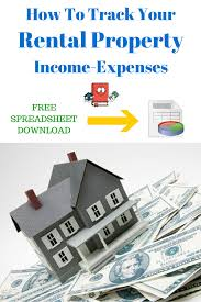 how to keep track of rental property expenses real estate real