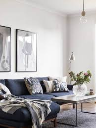 blue couch living room impressing best 25 blue couches ideas on pinterest navy couch of
