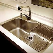 Franke Orca ORX Undermount Single Bowl Stainless Steel Sink - Kitchen sink with drying rack