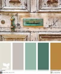 Antiquity Tones Terra Cotta - Color palette bedroom