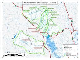 petaluma ca map file petaluma river watershed 2007 steelhead survey jpg