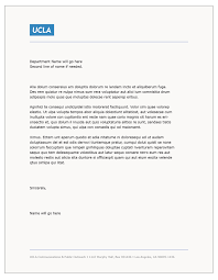 Cover Letter Template Word Download Templates U2013 Ucla Brand Guidelines