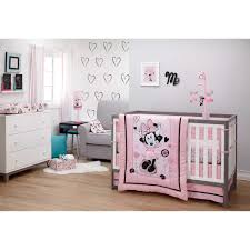 disney minnie mouse hello gorgeous 3 piece crib bedding set