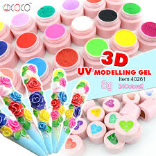 3d nail art acrylic uv modeling gel 40261w buy uv modeling gel
