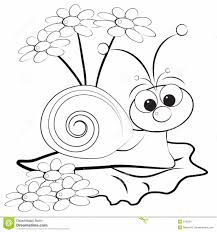 snail coloring page youtuf com