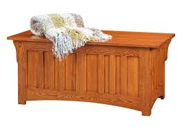 Mission Vanity Classic Oak Mission Hope Chest From Dutchcrafters Amish Funiture