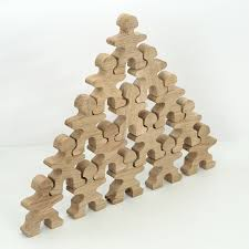 Christmas Decorations Wholesale Johannesburg by Import Wholesale Stacking And Balancing People Toy Blocks From