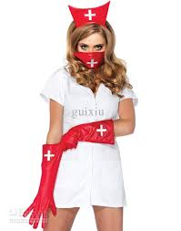 Size Nurse Halloween Costumes Cosplay Nurse Costumes Women Psycho Nurse Sally