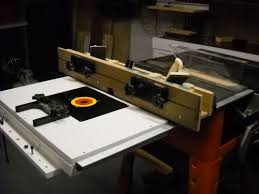 Ridgid Router Table Router Table In Ridgid Tablesaw By Woodchips Mac Lumberjocks
