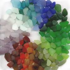 the colors of sea glass where do they come from