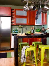 appliances single wall kitchens space saving designs with full size of red stylish wooden kitchen cabinet small countertops bar breakfast with yellow barstool stainless