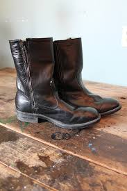 womens black cowboy boots size 9 activity price reduction shoes losthighwayvtg vintage black