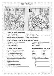 present continuous worksheet free esl printable worksheets made