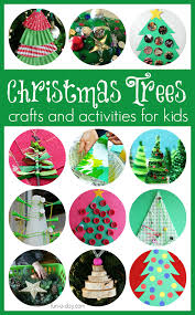 30 christmas tree crafts and activities for kids tree crafts