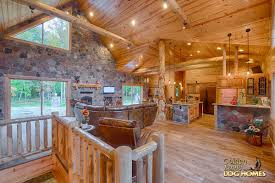 Open Floor Plan Homes Log Cabin Home Designs And Floor Plans Log Cabin Home Designs And
