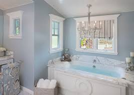 Chandelier Above Bathtub Chandelier Over Tub Bathroom Traditional With Soaking Tub