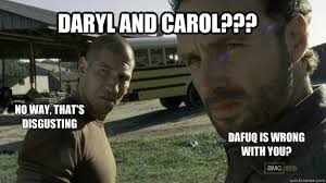 Walking Dead Daryl Meme - the walking dead samengevat door endantwit memes quickmeme