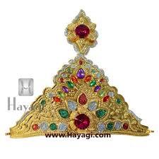 colour crown ideal for ganesh and gauri hayagi