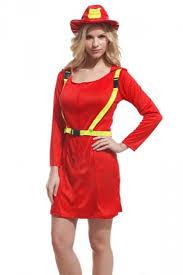 Fireman Halloween Costume Red Cool Womens Firefighter Halloween Costume Pink Queen