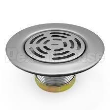 Kitchen Sink Drain Basket Ss 400 St Steel Kitchen Sink Drain W Flat Top Grid Strainer
