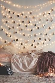 wall breathtaking fairy lights bedroom wall inspiration festoon
